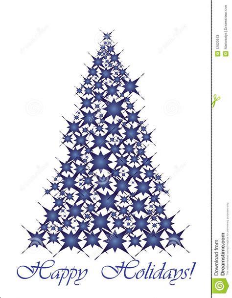 193 rbol de navidad estrellas azules fotos de archivo