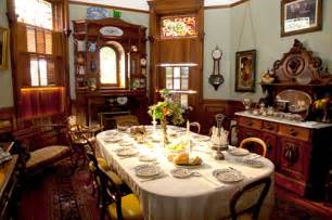 victorian dinner party publications advice