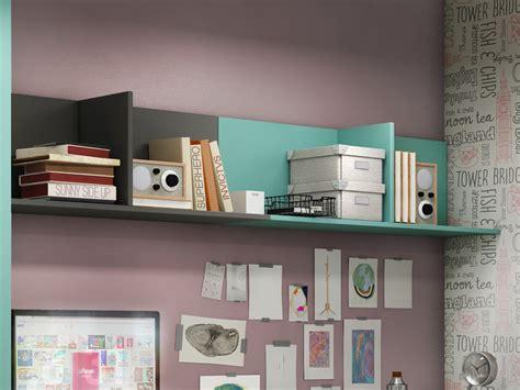 estante de pared estante de pared para habitaci 243 n juvenil mueble en roble