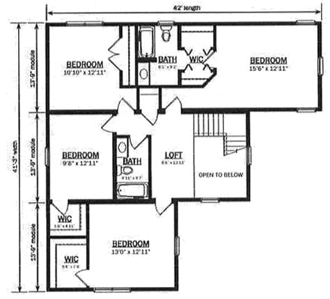 hallmark homes floor plans floor plan detail hallmark modular homes