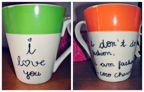 diy writing on mugs mariana cheta fashion lifestyle