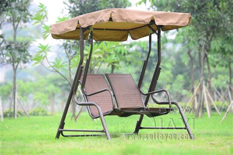 covered swing bench love seater patio garden swing chair hammock outdoor sling