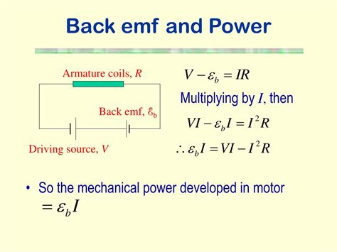 inductors back emf ppt electromagnetic induction powerpoint presentation id 228996