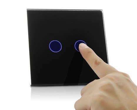 Saklar Biasa easy light 2 saklar lu dengan tombol sentuh yang