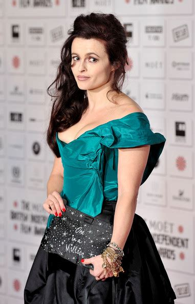 Helena Bonham Carries Intestine Bag At Harry Potter by Helena