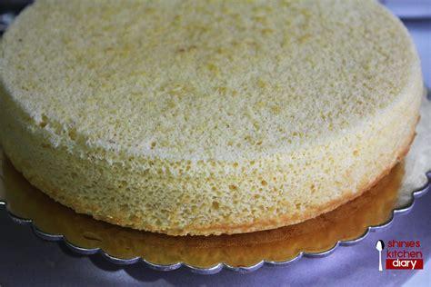 sponge cake ready to decorate shinies kitchen diary