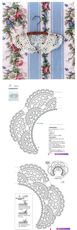 js pattern exec 104 best images about crochet collars patterns on pinterest