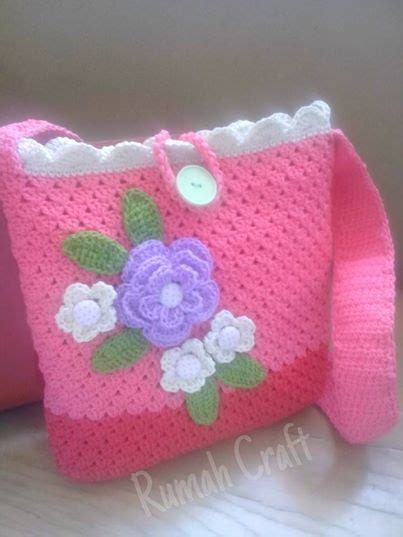tutorial tas rajut kecil rumah craft it s all about my craft projects