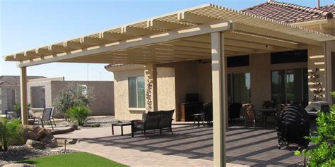 Patio Awnings Prices Alumawood Patio Covers Arizona Rain Gutters Amp Shade Experts