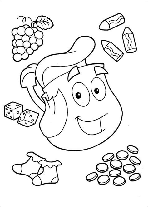 dora coloring pages bestofcoloringcom