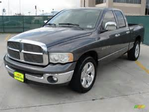 2003 Dodge Ram 1500 Paint Colors Graphite Metallic 2003 Dodge Ram 1500 Slt Cab