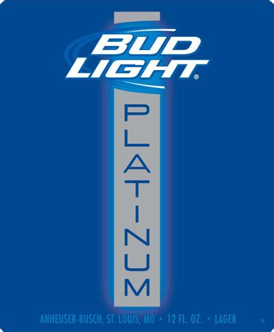 bud light on sale this week with platinum bud light shoots for the high end