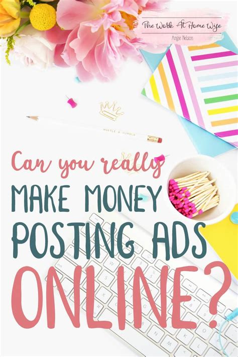 Make Money Placing Ads Online - can you really make money posting ads online