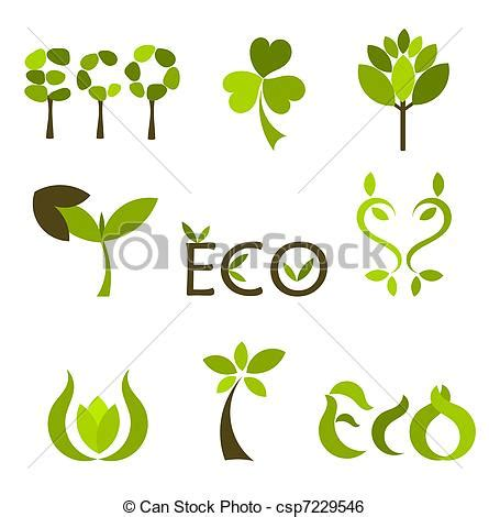 nature clip art royalty free gograph clip art vector of nature symbols various eco and nature
