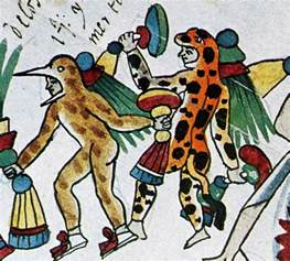 Aztec Jaguar And Eagle Warriors The Highest Rank In The Aztec Army