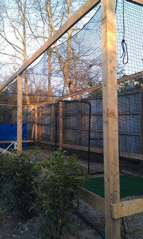batting cages backyard backyard batting cage paeton paet sissy pinterest