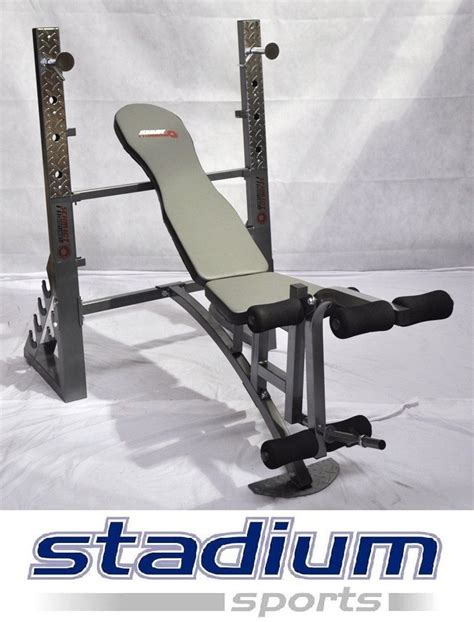 bench press weight rack weight bench press leg extension dumbbell rack commercial grade ebay