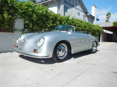 porsche california speedster 1956 porsche speedster for sale classiccars com cc 398653