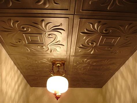 Painting Ceiling Tiles 1000 Ideas About Styrofoam Ceiling Tiles On
