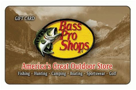 Bass Pro Gift Card - discount on bass pro shops gift card at king soopers monday only