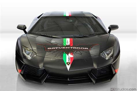 Luxury Car Garage Design lamborghini aventador wrap design ki studios
