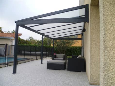 aluminium pergola pergola alu classique toiture en polycarbonate 16 mm standard