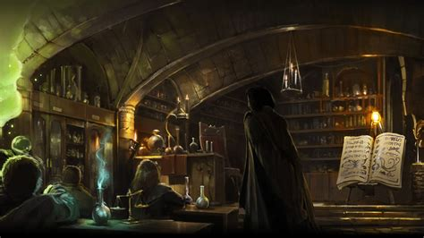 room of wiki pottermore background potions class by xxtayce on deviantart