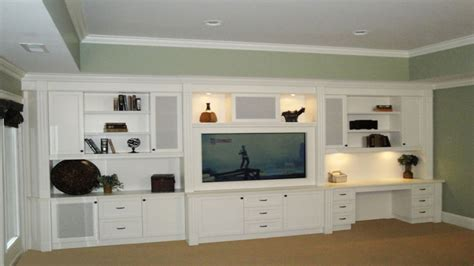 entertainment center with desk built in entertainment center design ideas