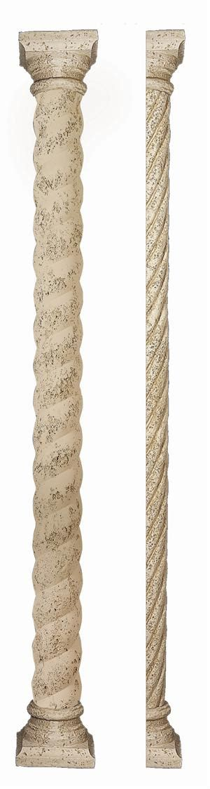 Decorative Top Of A Column by Polyurethane Decorative Bold Twist Column With High Top