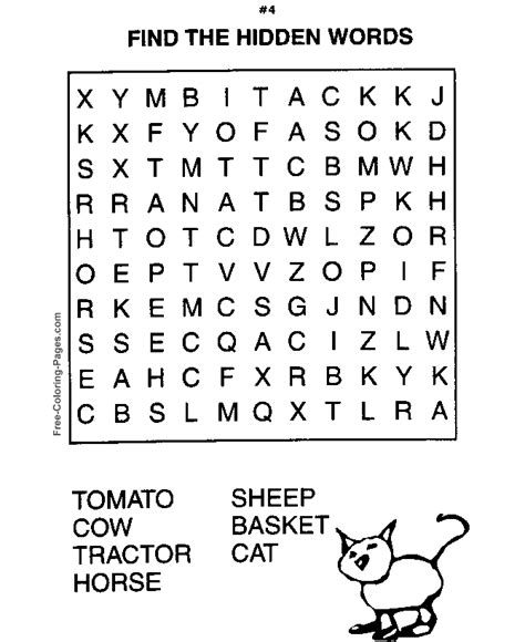 Printable word search puzzles FREE