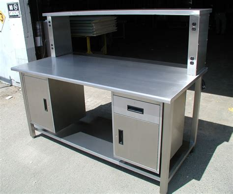 work bench nyc building stainless steel work bench laluz nyc home design