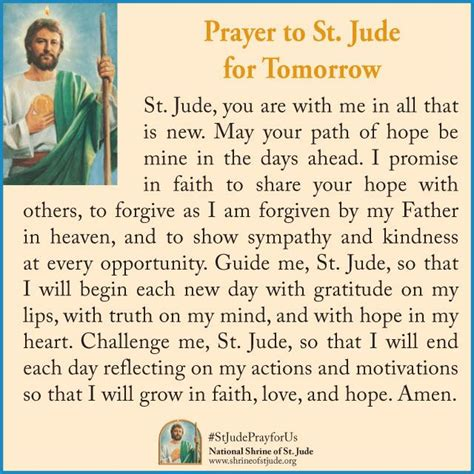 prayers to st prayer to st jude for tomorrow st jude ecards