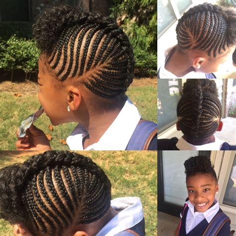 image of cornrow styles for kids polished braids hairstyles for children pictures feilong us