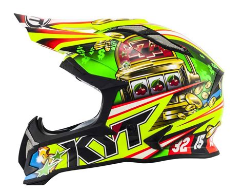 Helm Cross Kyt kyt strike eagle motocross helmet xs 53 54
