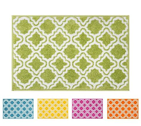 best accent area rugs for entry way kitchen bedroom modern rug calipso green 5 x7 lattice trellis accent area