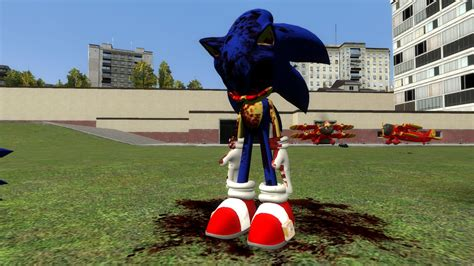 garry s sonic exe garry s mod by millietailskoprower on deviantart