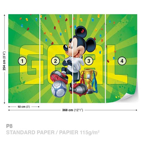 Mickey Mouse Doormat Disney Mickey Mouse Wall Paper Mural Buy At Europosters