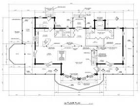 homes blueprints runner up best multi level log home plan barna log homes