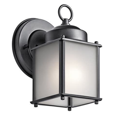 kichler light kichler lighting 9611 1 light outdoor wall mount