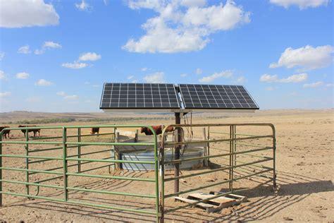 livestock and solar panels rangelands solar panels at the harshbarger ranch real ranchers