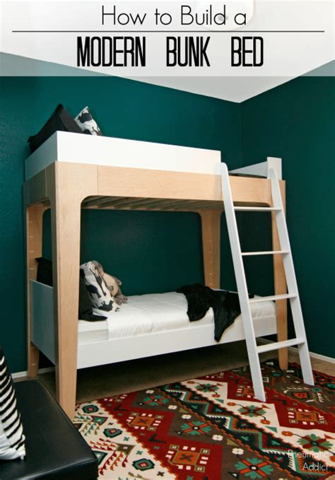 bunk bed modern pneumatic addict how to build modern bunk beds