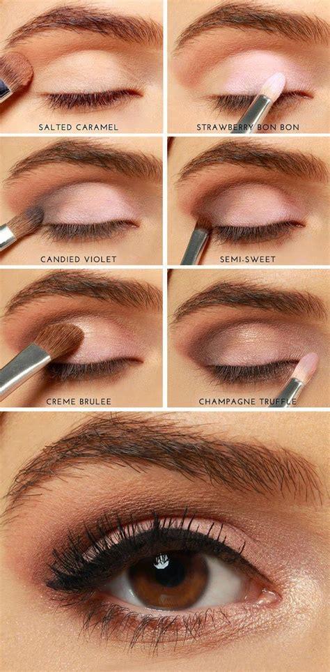 eyeshadow tutorial chocolate bar diy makeup ideas picmia