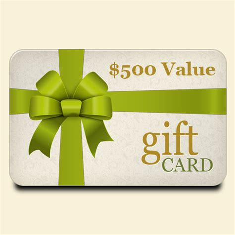 500 Gift Card - pure skin spa 500 gift card pure skin spa napa valley