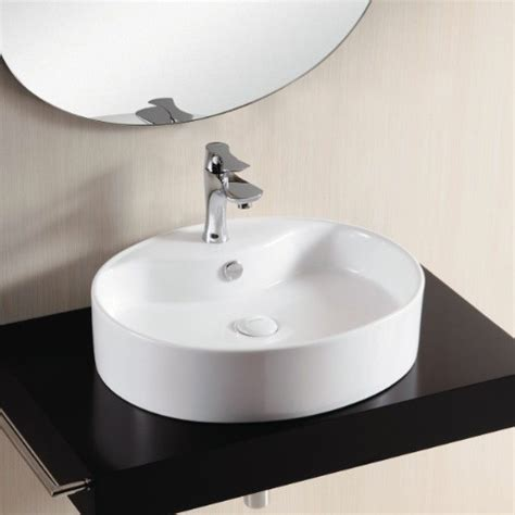 counter sinks bathroom oval above counter vessel bathroom sink by caracalla
