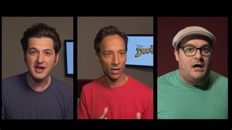 ben schwartz dewey ducktales cast revealed using the iconic theme song youtube