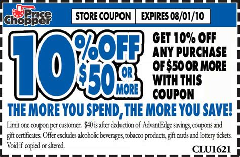 free printable grocery coupons price chopper 10 off price chopper coupon addictedtosaving com
