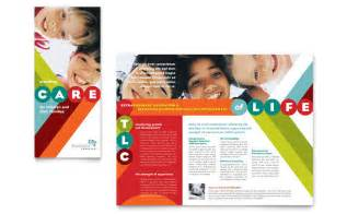 pediatrician amp child care brochure template design
