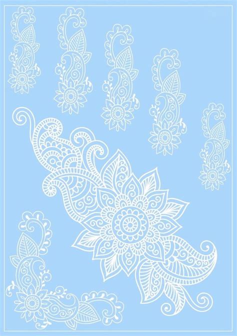 white henna tattoo amazon 100 cover up 10 sheets