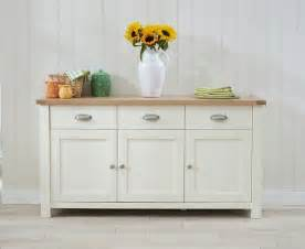 how to sideboard banbury painted and oak wooden furniture 3 door 3