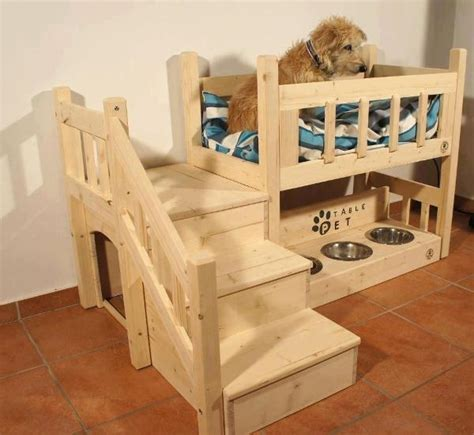 dog bunk bed lovely furniture for your quadruped friend home design